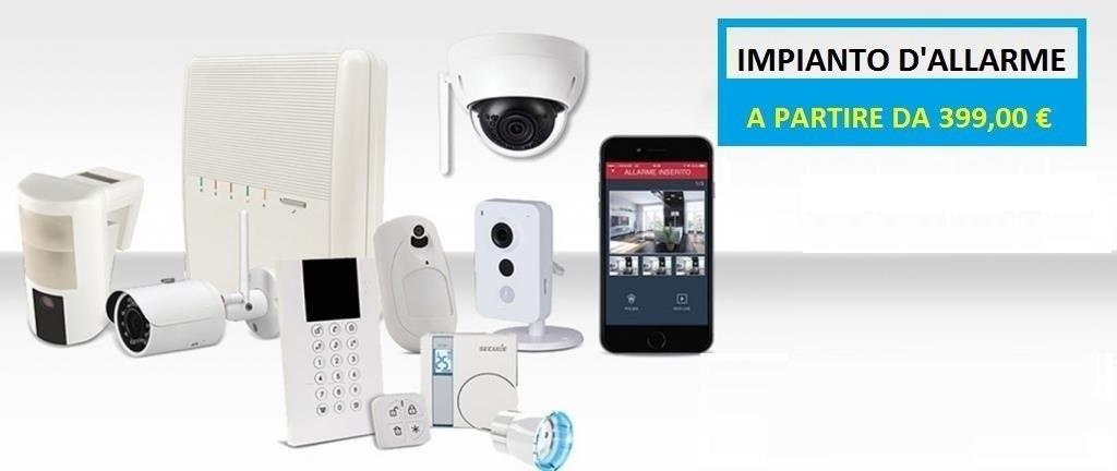 Offerta Impianto D Allarme Per La Casa Roma Techno Security